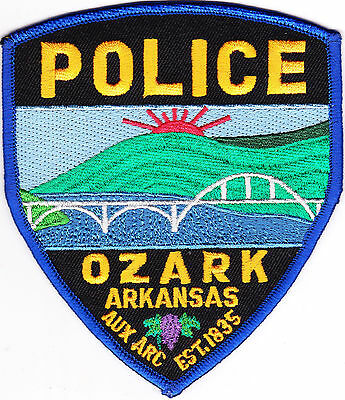 Ozark Police Patch Arkansas AR NEW!!