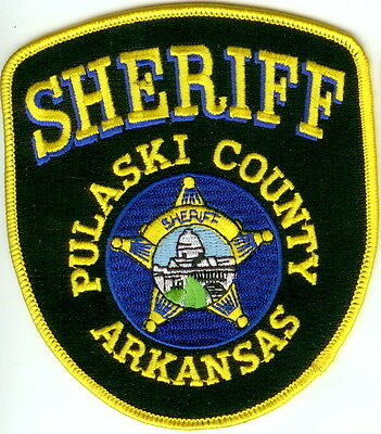 Pulaski County Sheriff  Police Patch Arkansas AR NEW!!