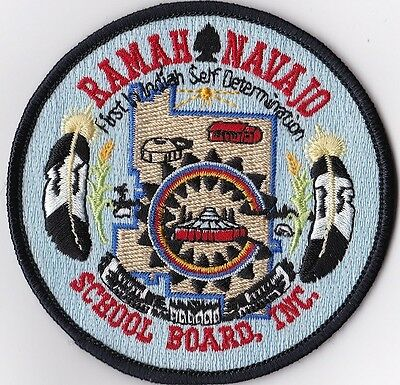 Ramah Navajo Police Patch New Mexico NM NEW