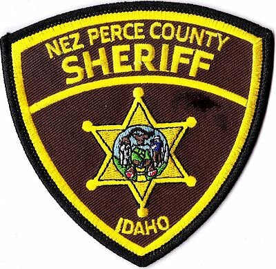Nez Perce County Sheriff  Police Patch Idaho ID NEW