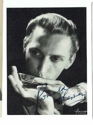 Ronald Chesney Actor and Writer On the Buses Hand Signed Vintage Phoro 5 x 3