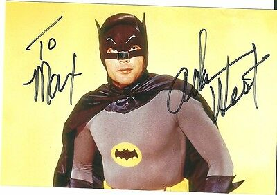 Autogramm Adam West (Batman) 10x15cm original Unterschrift