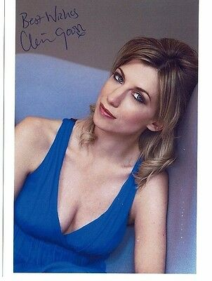 Clare Goose British Actress Spooks Hand Signed Photograph 7 x 5