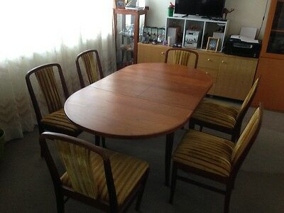parker dining table with 6 chairs