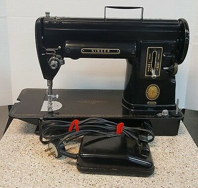 1956 Singer 301A Sewing Machine The Featherweights Big Sister Serial # Nb067135
