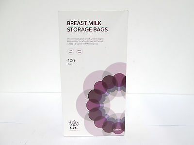 Eve Family Products Breast Milk Storage Bags Leak-Proof 6 oz - 100 count [A-S]