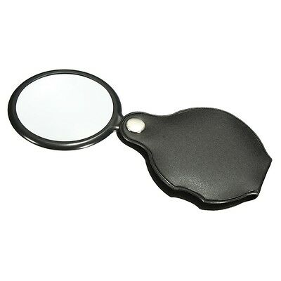 10x Hand-Hold Monocle Magnifying Magnifier Glass Foldable Portable Jewelry Loupe
