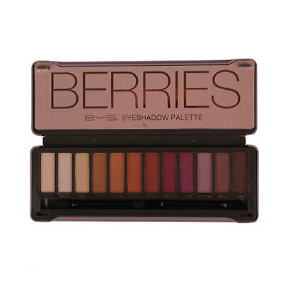 BYS Berries Eyeshadow Palette 12 Colours 12g