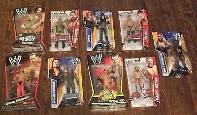 WWE Mattel Figure Lot New Rare MOC