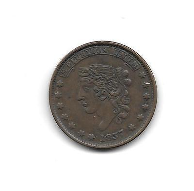 Hard Times Token - Specie Payments Suspended, May 10th, 1837