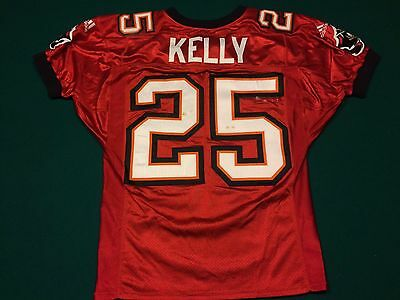 12/7/1998 Brian Kelly Tampa Bay Buccaneers Game Worn Jersey - MEARS LOA