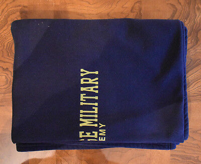 Valley Forge Military Academy Navy Blanket