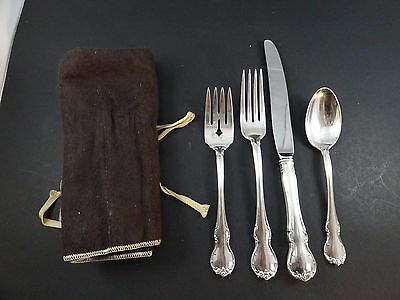 Vintage Towle Sterling Silver French Provinicial Pattern Flatware Set #1 Mar