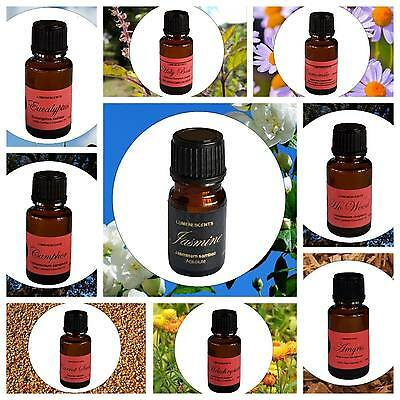 Aromatherapy 100% Certified or Certified Organic Essential Oils  - A to N
