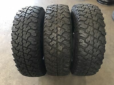 245/75/16 Cooper Discoverer S/T X 3 Used Tyres