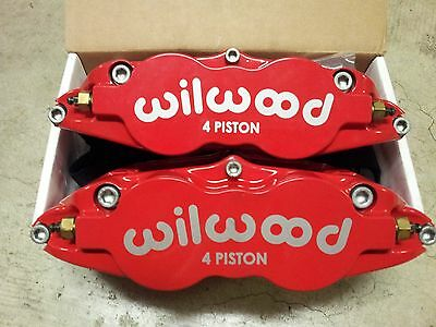 Chrysler Chevy Ford Wilwood 4Piston Forged Superlite Brake Calipers 120-11782-RD