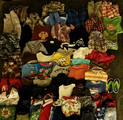 Baby Boys Clothes Size 12-18 months Lot Shirts Pants 12 month 18 mo Toddler Boy