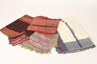 FOUR SOUTHEAST ASIAN WOVEN TEXTILES. - First, 17 1/2 in. x 21 in., 44... Lot 793