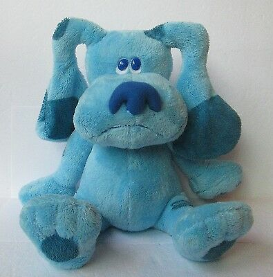 """BLUES CLUES 12"""" PLUSH DOLL, Ty Beanie Buddies Collection"""