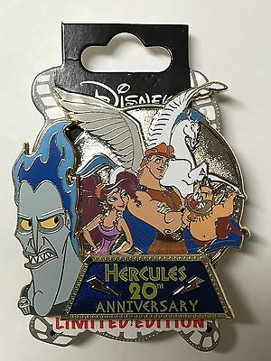 DSF Disney Soda Fountain HERCULES 20th Anniversary Pegasus LE 200 Surprise Pin
