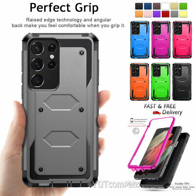 Shockproof Rugged Rubber Protective Case Cover For SAMSUNG GALAXY S6 Edge S7