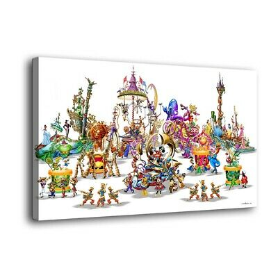 """12""""x20""""Disney characters Painting HD Print on Canvas Home Decor Wall Art Picture"""