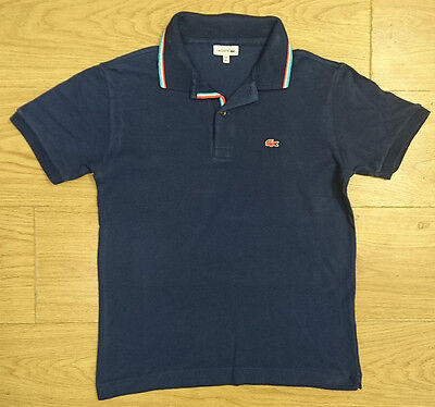 Lacoste Boys Polo Top Age 13-14 Years Shirt