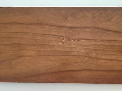 12 Sheets - CHERRY WOOD VENEER Raw Canadian - 34 Inch X 16 Inch - 3 Sizes