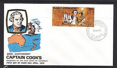 FDC: 1970 SMALL COOK 30c FDC  THESE ARE NOT THAT EASY TO FIND THESE DAYS.