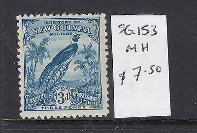 NEW GUINEA  3d   B/P   DATED  MH  SG 153