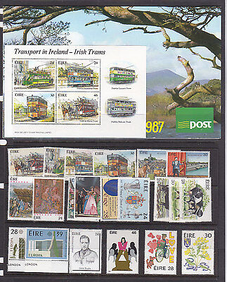 Ireland Special And Commem Stamps Pack Of 1987  **muh**