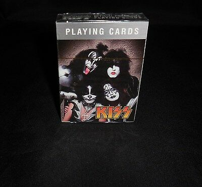 Kiss Poker Style Playing Cards New