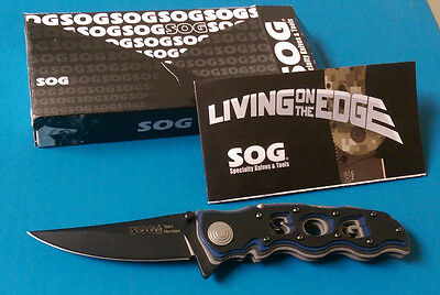 Sog Meridian TINI - RARE Discontinued Folding Asissted Open Pocket Knife AUS-8