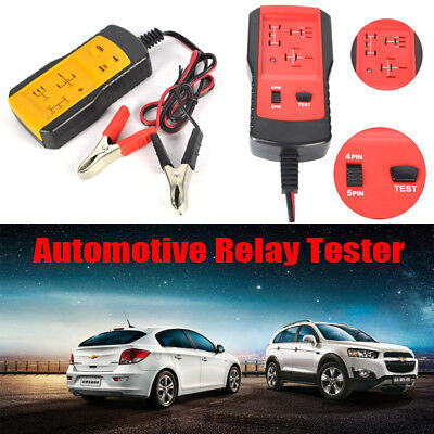 AE100 Electronic Automotive Relay Tester 12V Car Diagnostic Auto Battery checker
