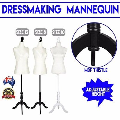 Female Mannequin Cloth Clothes Dress Shop Business Display Tailor Dressmaker