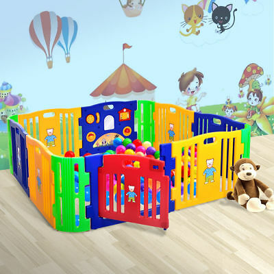 12 Playpen Folding Play Yard Random Indoor Portable Toddler Baby Outdoor Safety