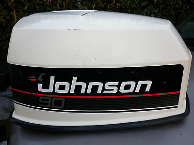 JOHNSON 90HP outboard motor engine cover, suit EVINRUDE OMC 90hp - 135hp.