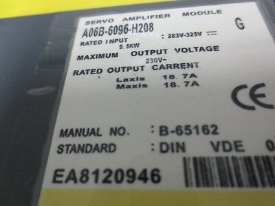 A06B-6096-H208  New&Original Fanuc Servo Module In Box