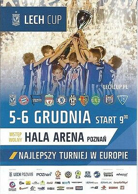 LECH CUP 2015 Incl CHELSEA  LIVERPOOL and others