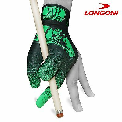 Renzline POOL CUE GLOVE Billiard Player Green/Black for Left hand+FREE SHIPPING!