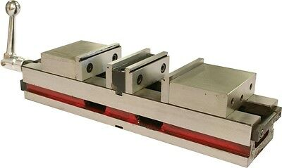 Double Action Lock Machine Vice - 100mm Jaw Width.