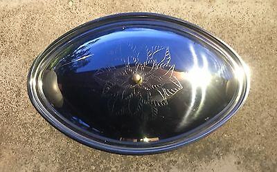 RARE Inox Alessi Italian Stainless Steel Serving Tray W/ Lid - VINTAGE 1960s