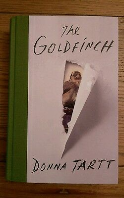 The Goldfinch SIGNED LIMITED EDITION 1/26 ONLY Donna Tartt 1st/1st Hardback 2013