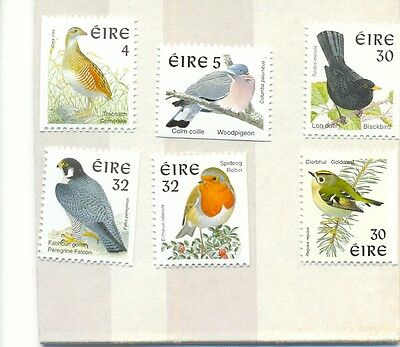 Ireland booklet stamps(1080-5)set of 6 mnh-I997 series