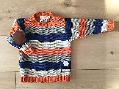 As NEW 2017 Baby Boy PETER RABBIT JUMPER Knit 1 $69 Indie Mini Country Cotton