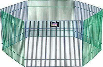 Small Animal Metal Exercise Play Pen For Hamster Gerbil Guinea Pig Pet Supply