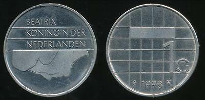 Netherlands, Kingdom, Beatrix, 1988 1 Gulden - almost Uncirculated