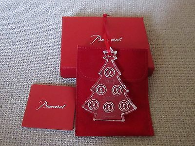 ornement noel baccarat 2008 CHRISTMAS NATALE WEIHNACHT SAPIN