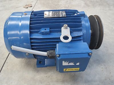 3KW 3 phase Foot Mount Electric Motor