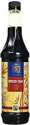Tate And Lyle Sugars Fairtrade Spiced Chai Coffee Syrup - 750 Ml
